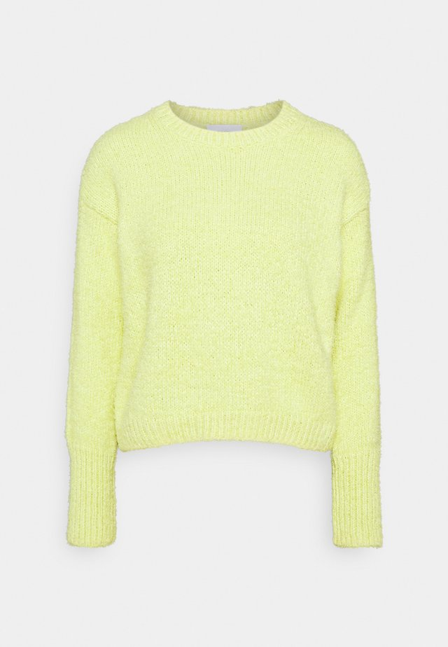 FLUFFY - Neule - light yellow