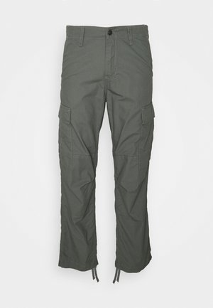 REGULAR PANT COLUMBIA - Cargo trousers - thyme rinsed