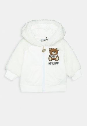 HOODED - veste en sweat zippée - cloud