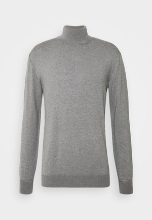 CLASSIC TURTLENECK - Jumper - grey melange