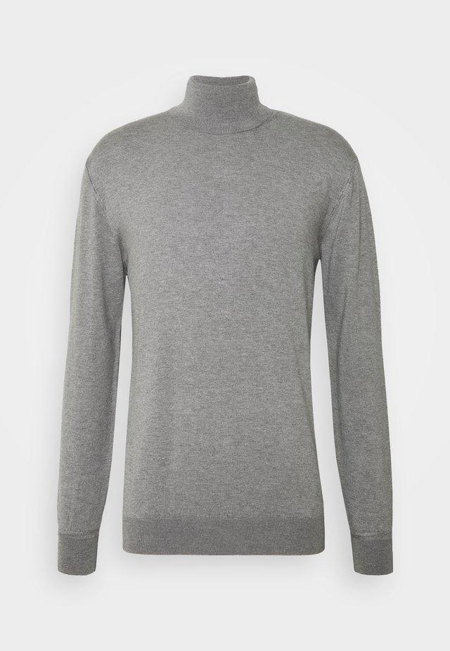 CLASSIC TURTLENECK - Pullover - grey melange