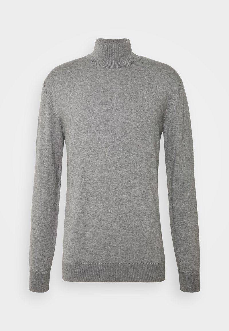 Scotch & Soda - CLASSIC TURTLENECK - Jumper - grey melange