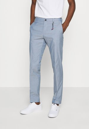 FLEX STRUCTURE SLIM FIT PANT - Trousers - blue