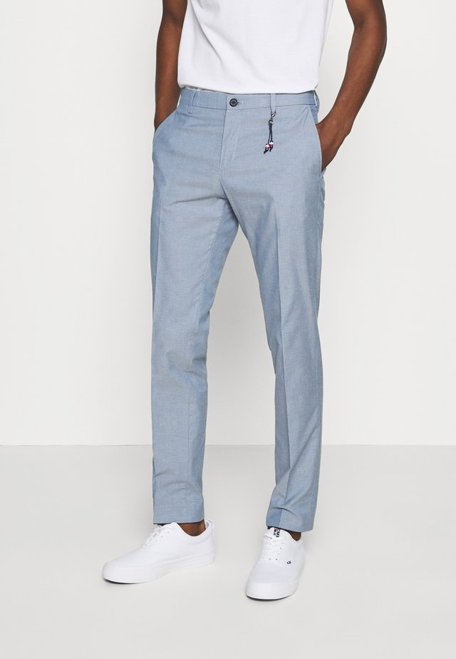 FLEX STRUCTURE SLIM FIT PANT - Broek - blue