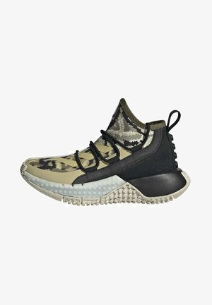 x LEGO SPORT MID RUNNING ACTIVE COLD.RDY PRIMEGREEN - Sneakers laag - black