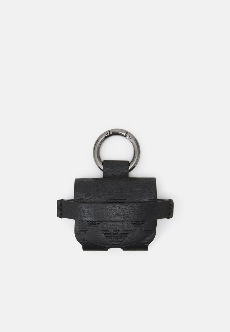 Emporio Armani - AIRPOD CASE EAGLE POCKET UNISEX - Other accessories - black