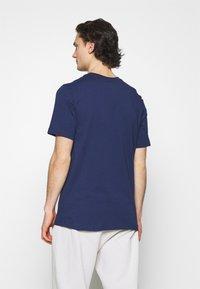 Nike Sportswear - TEE ICON - T-shirts print - midnight navy/white - 2