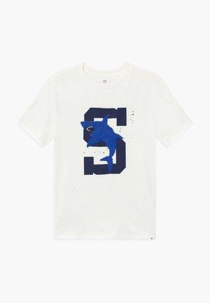 BOY - Print T-shirt - new off white
