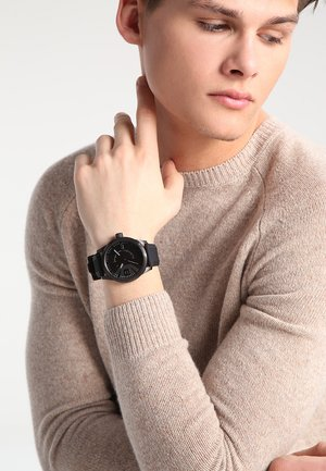 RASP - Uhr - schwarz