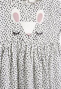 Next - BUNNY FACE - Day dress - white/black - 3