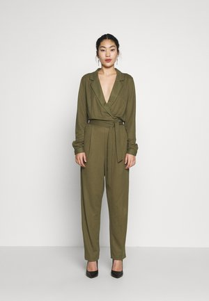 OBJTHELMA - Jumpsuit - burnt olive