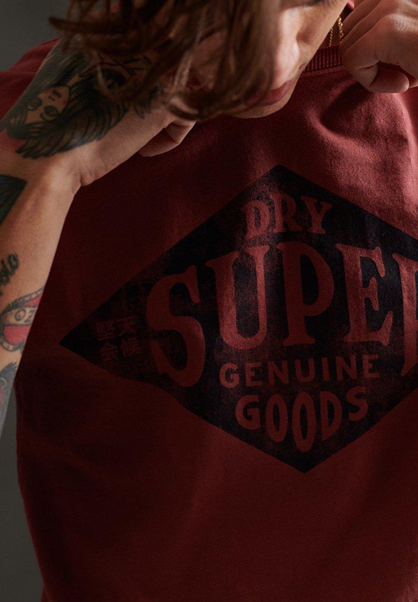 Men SUPERDRY WORKWEAR T-SHIRT - Print T-shirt