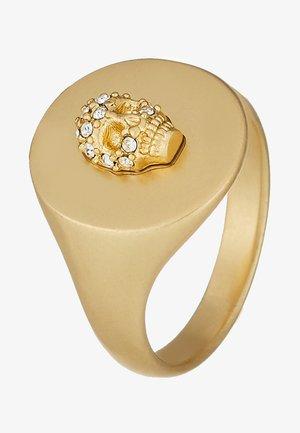 SKULL DECLARATI - Bague - gold-coloured