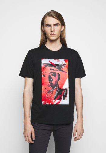 DANGUR  - Print T-shirt - black