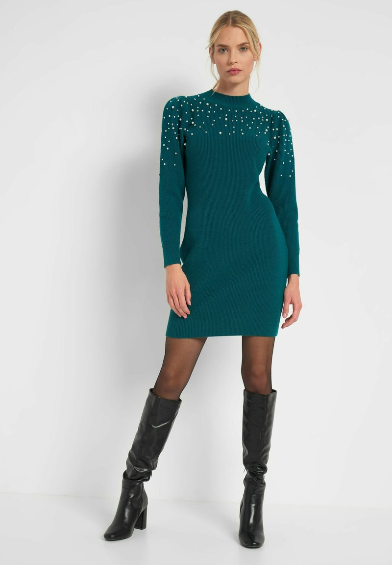 ORSAY - Shift dress - blaugrün