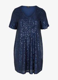 Zizzi - Day dress - dark blue - 3