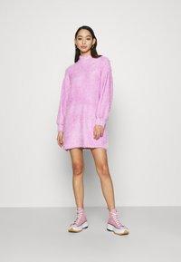NA-KD - STEPHANIE DURANT - Strikket kjole - pink - 1