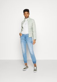ONLY - ONLMISSOURI LIFE - Straight leg jeans - light blue denim - 1