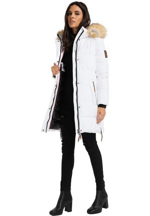 HALINA - Winter coat - white