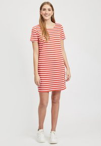 Vila - VITINNY  - Jersey dress - red - 1