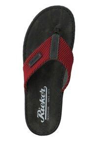Rieker - T-bar sandals - black - 6
