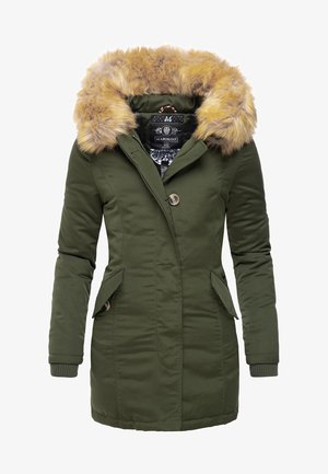 KARMAA - Winter coat - olive