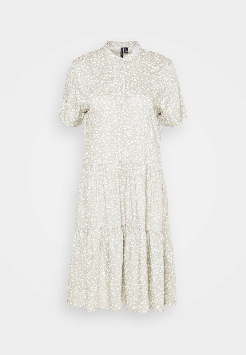 Vero Moda Tall - VMSIMONE SHORT DRESS - Shirt dress - desert sage