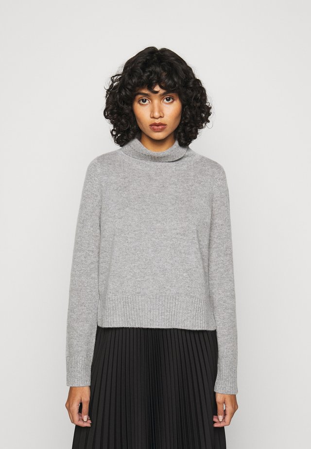 HIGHNECK - Strickpullover - opal grey