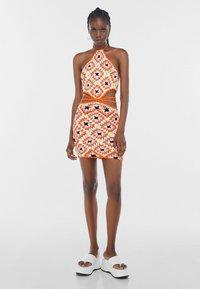 Bershka - Jumper dress - orange - 1