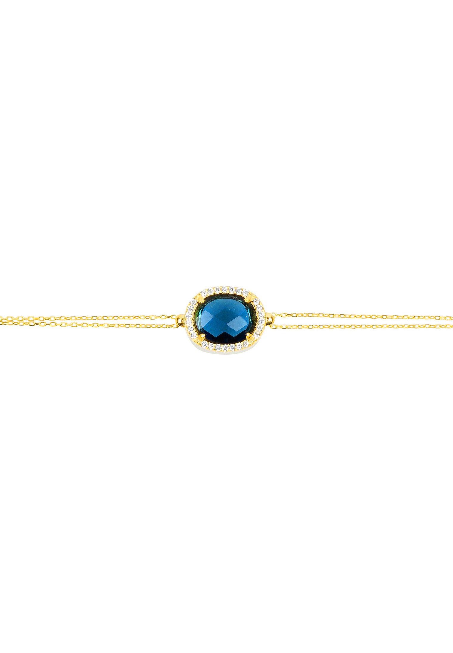 Latelita Armband - Or/blau