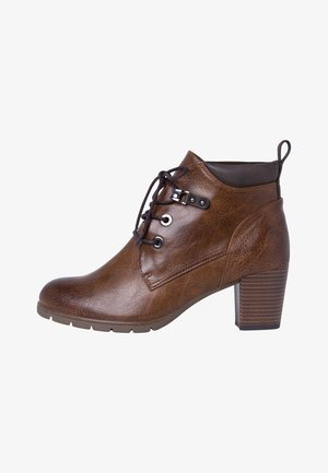 Lace-up ankle boots - cognac ant.com