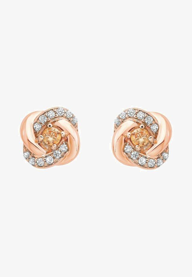 Earrings - apricot