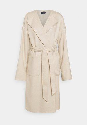 UNLINED COAT - Classic coat - oatmeal