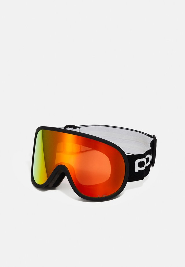 RETINA BIG CLARITY UNISEX - Skibril - uranium black/spektris orange