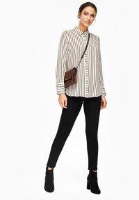 s.Oliver BLACK LABEL - Button-down blouse - cream - 1