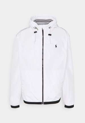 AMHERST FULL ZIP JACKET - Summer jacket - white
