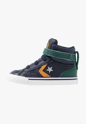 PRO BLAZE STRAP - Sneakers high - obsidian/midnight clover/saffron yellow