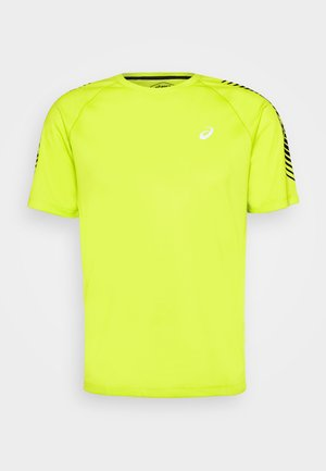 ICON - Print T-shirt - lime zest/performance black