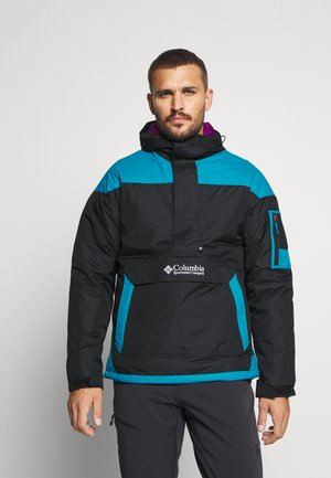 CHALLENGER - Windbreaker - black/fjord blue