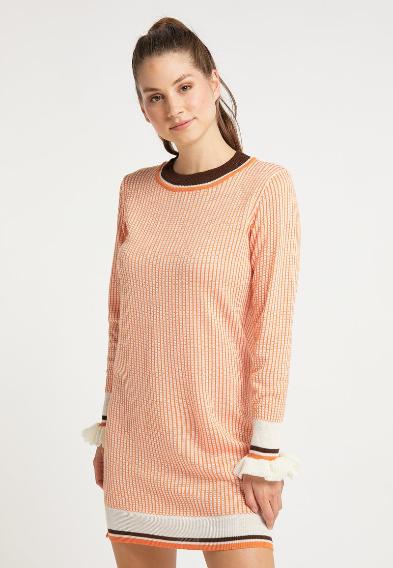 myMo - Jumper dress - orange