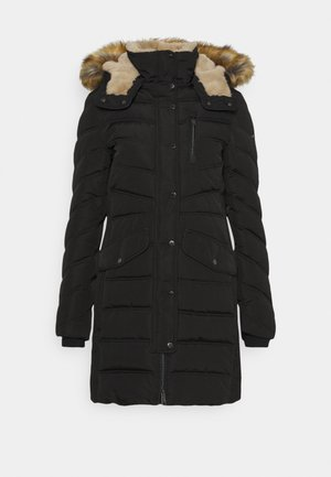 SIGNATURE PUFFER COAT - Winter coat - deep black