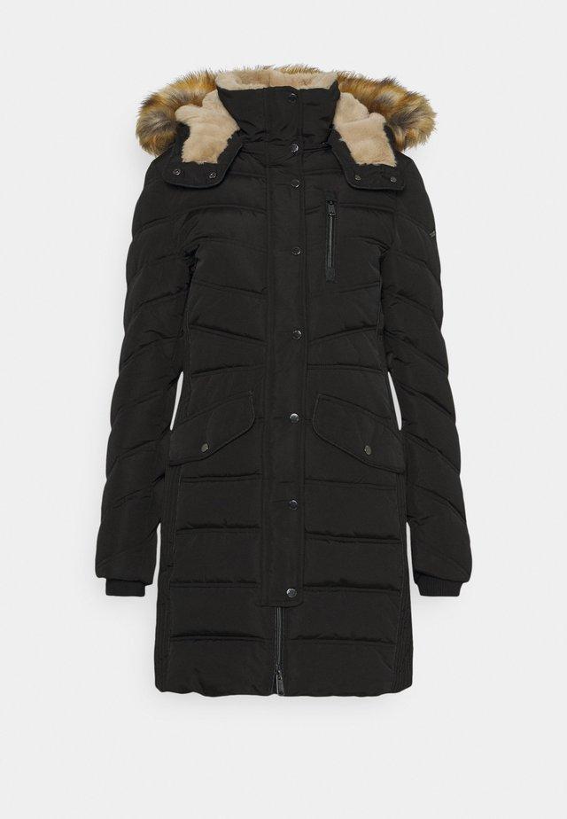 SIGNATURE PUFFER COAT - Winterjas - deep black