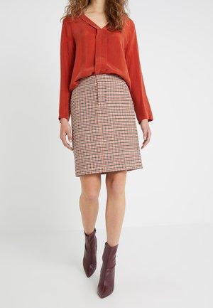 JACY - A-line skirt - orange