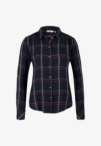 TOM TAILOR - Button-down blouse - navy grid check - 7
