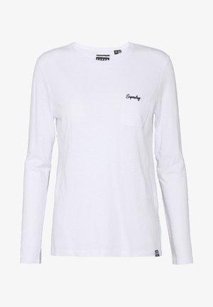 ESSENTIAL - Camiseta de manga larga - white
