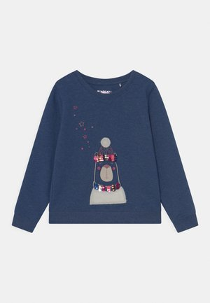 KIDS - Sweatshirt - blue melange