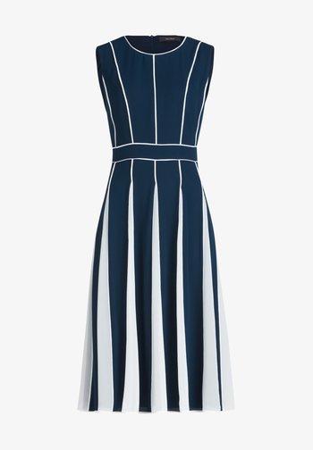 Cocktail dress / Party dress - dark blue cream
