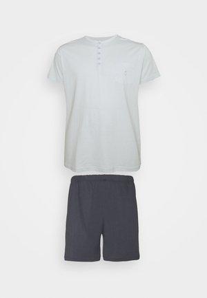 Pyžamo - dark blue/mint