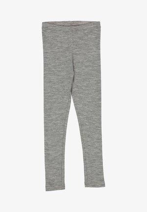 Leggings - Trousers - melange grey