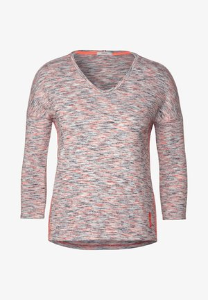 MIT MELANGE-OPTIK - Long sleeved top - orange